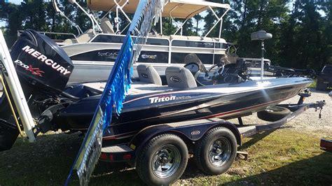 used triton bass boats for sale 2007 used triton 186 bass boat bass boat for sale