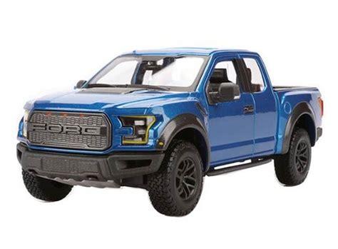 Maisto Design 124 2017 Ford F 150 Raptor Blue blue white silver 1 24 diecast 2017 ford f 150 model nt01t236 eztrucktoys