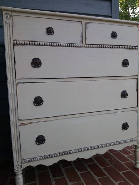 General Finishes Milk Paint. Linen and Antique white with