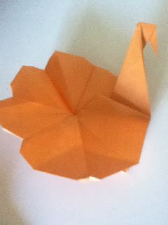 Origami Turkey Diagrams - woodland creatures curious charisma