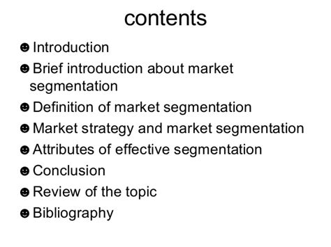 Introduction Letter Definition introduction and definition of market segmentation