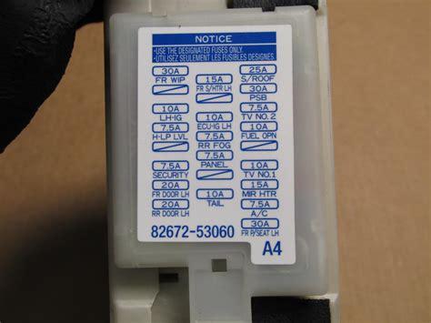 lexus gs fuse box diagram wiring library