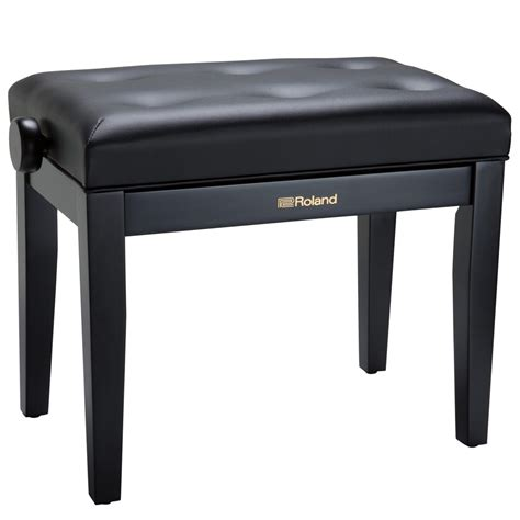 roland piano bench roland rpb 300 adjustable piano bench satin black las