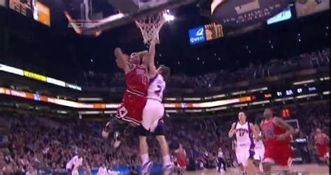 derrick rose dunks  goran dragic redeye chicago