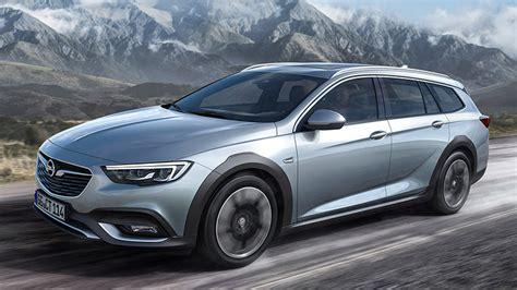 2018 opel insignia country tourer specs and details car news