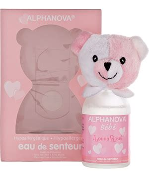 parfum bebe louna pour filles alphanova 100ml