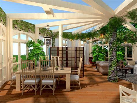 arredamento giardino d inverno foto veranda arredamento decorazioni sala da pranzo idee