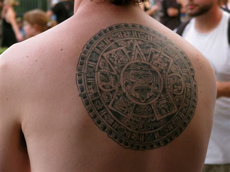 aztec calendar tribal tattoos aztec tattoos designs ideas and meaning tattoos for you