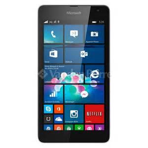 Microsoft Lumia 535 Second microsoft lumia 535 white chez vanden borre comparez et achetez facilement