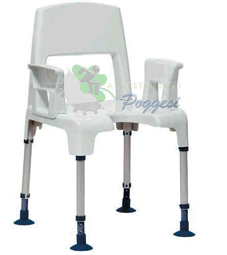 sedie doccia per disabili sedia da doccia per disabili acquatec pico ausili per