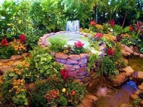 backyard flower garden beautiful backyard flower gardens freshouz