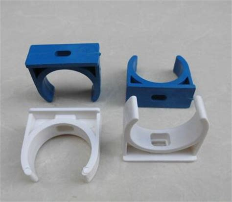 100pcs 20mm 25mm 32mm pvc water line pipe fittings universal pipe cl clip white blue in pipe