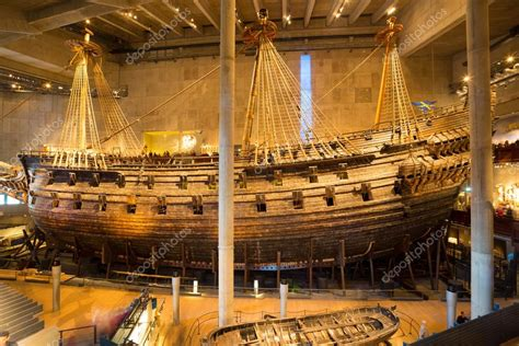 vasa museum stockholm vasa museum in stockholm sweden stock editorial photo