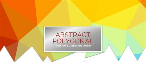 google slides templates for teachers abstract polygonal free powerpoint theme google slides