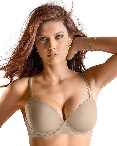 Or Bra invisible high push up bra with memory foam leonisa