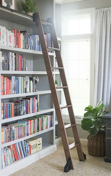 Library Bookcases With Ladder Best 25 Library Ladder Ideas On Library Bookshelves Bookshelves And Bookcase