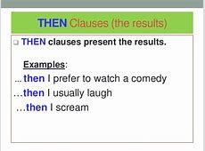 Conditoinal Sentences Justfind