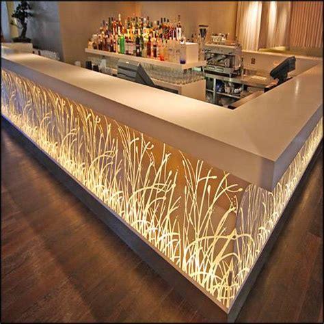 modern bar top modern design bar counter tell world solid surface co ltd