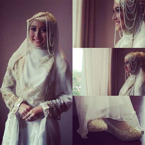 Jilbab Syari Pengantin 12 Gaun Pernikahan Yang Bisa Membuatmu Til Anggun