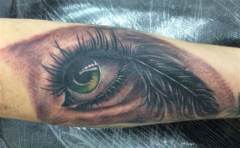 feather tattoo near eye 17 best images about tattoo black and grey on pinterest