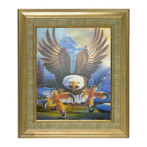 eagle home decor new eagle lenticular 3d picture animal poster painting