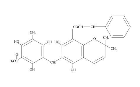 molecule diagram rottlerin molecule