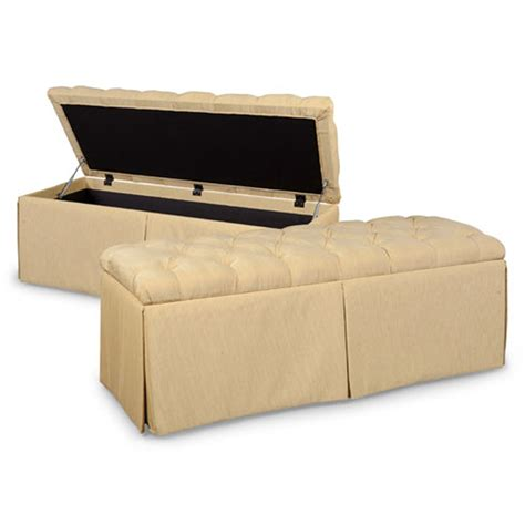 cheap ottoman with storage fairfield 1663 22 bench collection storage ottoman