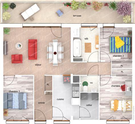 plan de jardin 3d