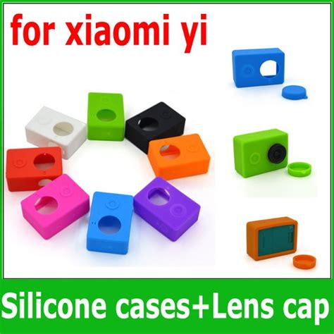 Promo Silicone Lens Cover For Xiaomi Yi 2 4k jual silicon soft protect rubber karet cover skin