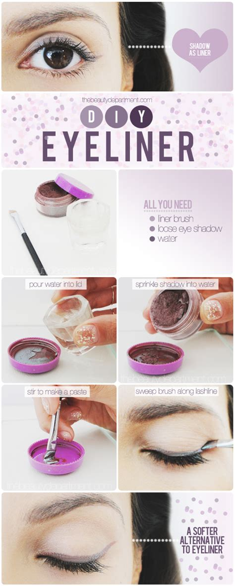 diy eye shadow the department your daily dose of pretty the softer side of liner