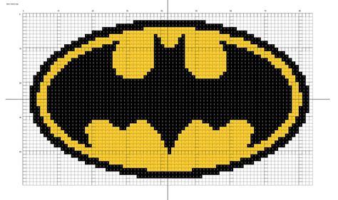 batman knitting chart batman logo by stinnen deviantart on deviantart