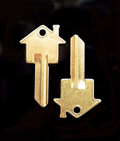 blank house keys house key blank keyblank one pair schlage kwikset home house office work ebay