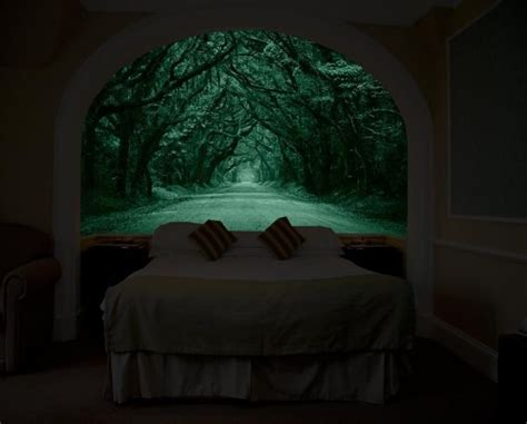 Wall Murals Amazon glow in the dark murals will brighten up your city view
