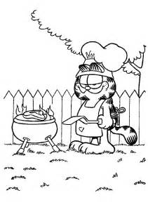 garfield coloring pages 7 garfield coloring pages