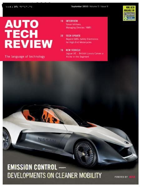 Auto Tech Review   September 2016   Free eBooks Download