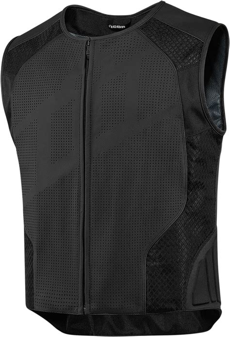 mesh motorcycle icon hypersport stripped leather mesh vest powersports