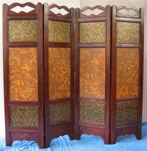 Folding Room Divider One Folding Screen Room Divider