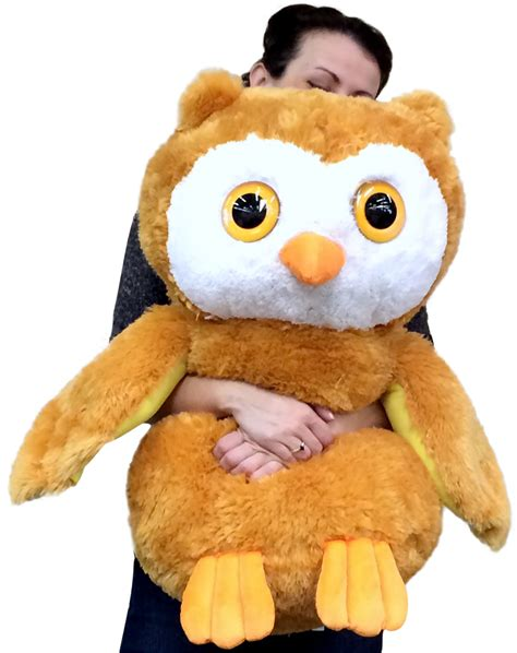 large stuffed image gallery owl stuffed animal
