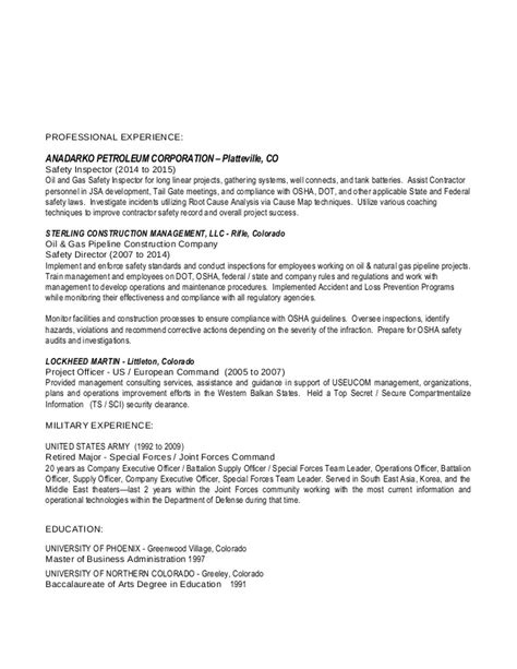 Building Inspector Resume by Rittenhouse Inspector Resume