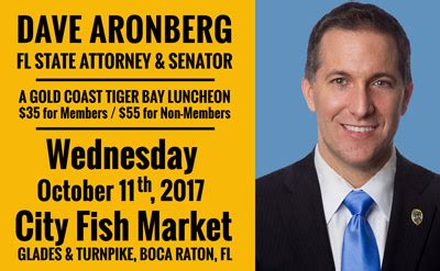 Florida State Attorney Search Dave Aronberg Florida State Attorney And Senator Speaks In Boca Raton Gold Coast