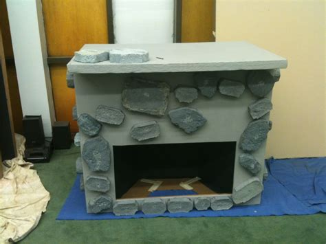 Fireplace Prop by Creative Construction How To Make A Prop Fireplace