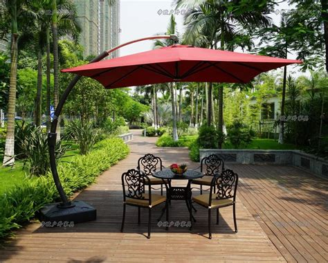 Patio Furniture Umbrellas Patio Umbrella Stand Sun Garden Patio Umbrella Holder Parasol Ground Anchor Spike