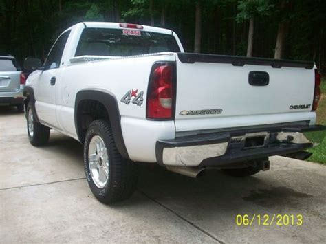 single cab short bed chevy buy used 2004 chevy silverado regular cab short bed 4x4