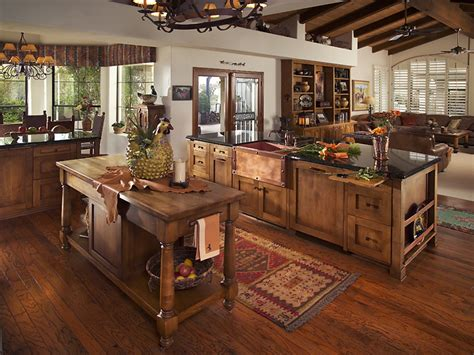 Rustic Chic Kitchen by Western Kitchen Ideas Western Rustic Kitchen Cabinets