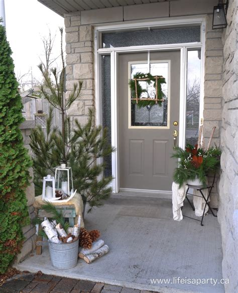 Modern Fall Decorations - christmas home tour 2015 life is a party