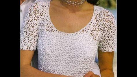 como tejer de gancho blusas como tejer de gancho blusas paso a paso de blusas