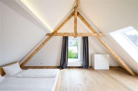 dachschräge zimmer einrichten design dachgeschoss schlafzimmer