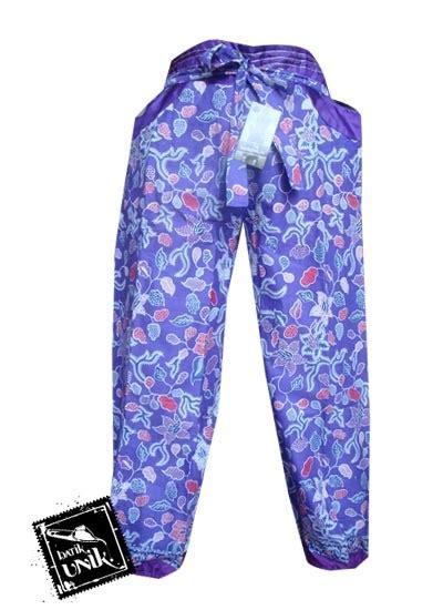 Celana Dalam Wanita Batik celana batik wanita panjang motif batik modern bawahan rok murah batikunik
