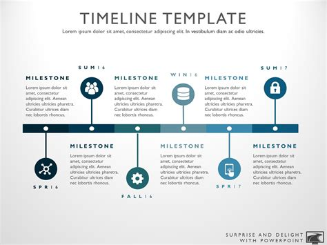 Six Phase Project Timeline Graphic High Level Timeline Template