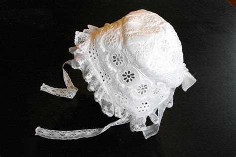 Handmade Baby Bonnets - 17 best images about christening gowns on lace